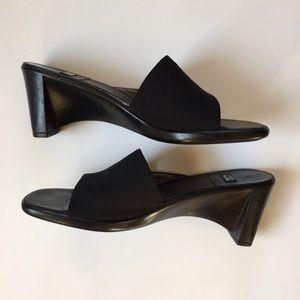 Stuart Weitzman Wedge Slide Sandals